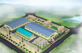 工业厂房模型设计效果图