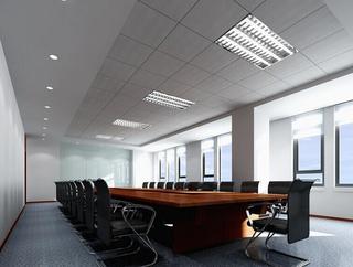 写字楼会议室装修效果图