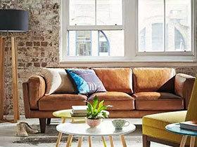 11款棕色客厅沙发 自然朴实造温暖