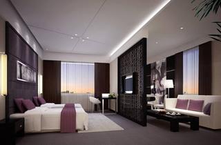 宾馆套房设计装修效果图片