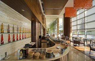 宾馆餐厅设计装修效果图片
