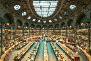 古典圖書館設計室內裝修圖片