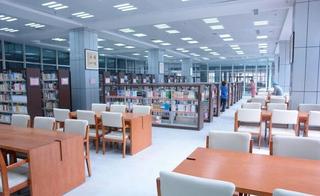 圖書館室內閱覽室裝飾案例欣賞