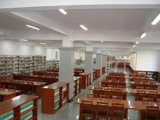 中學圖書館室內設計裝飾案例