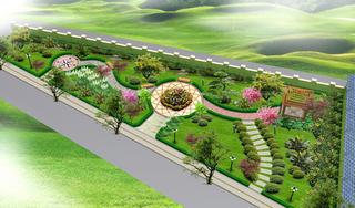 小公园设计效果图案例