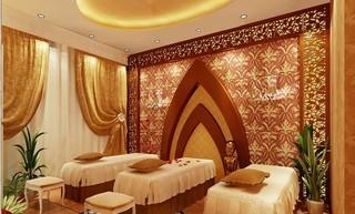 美容院室内按摩室设计图片案例