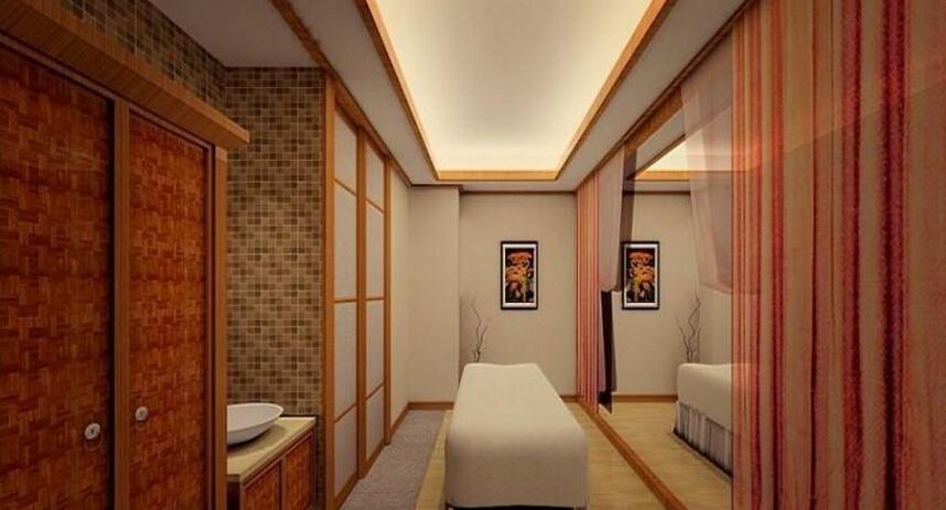 日式美容院室内设计图片案例