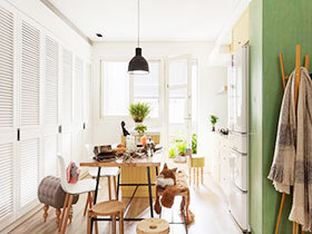 富有田园气息的家  绿色点缀活力空间活力倍增