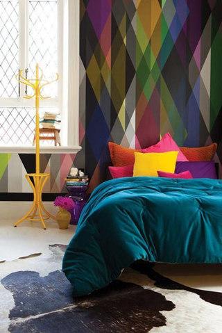 缤纷卧室设计