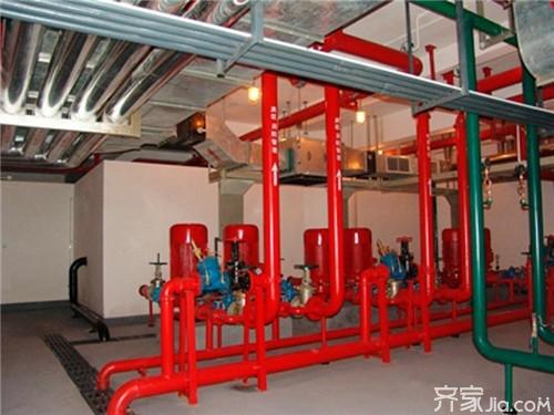 消防泵房的管道作用图片
