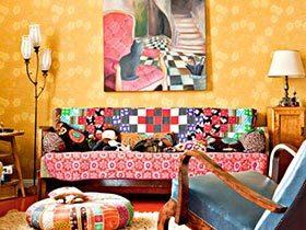 一幅好画惊艳家 12个客厅装饰画设计