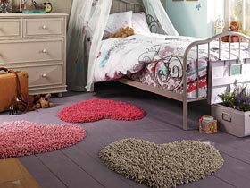 小装饰大改变 16款可爱地毯图片