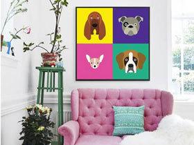 墙壁装饰法则 12款可爱装饰画图片