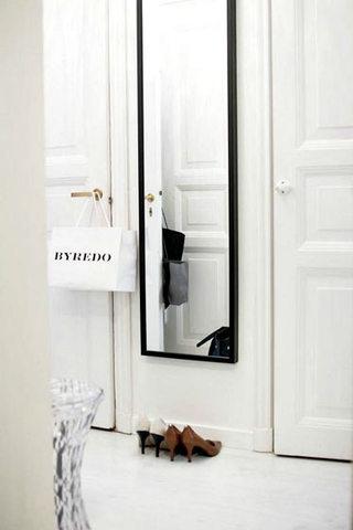 门口玄关试衣镜效果图