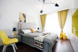 140平现代简约装修卧室设计
