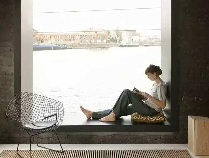 舒适飘窗设计效果图