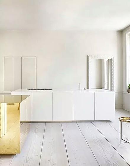 白色纯净厨房装修效果图