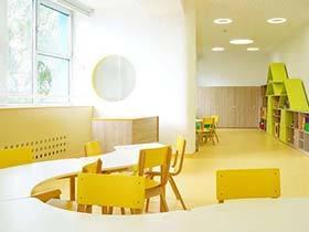可爱幼儿园大厅装修图