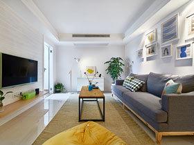 很简洁的家居装修  整体花费才8万
