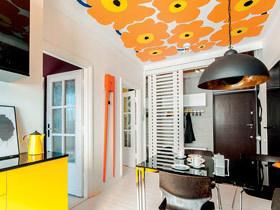 55平小户型艺术空间 我家的色彩很靓丽