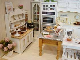 袖珍空间迷你家  11个迷你厨房装修图片