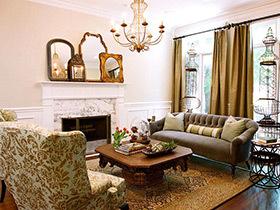 客厅也能逆生长 11个清新田园风格客厅装修