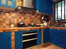 厨柜总动员 10款砖砌橱柜装修效果图