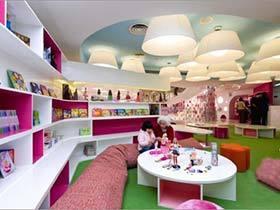 玩具店效果图片