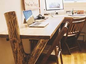 书桌上的意外  10款转角书桌设计布置图片