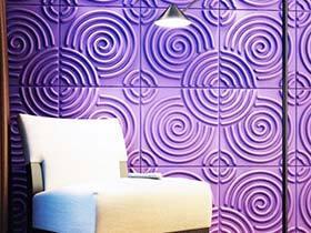 时尚风趣面  10款创意背景墙设计平面图
