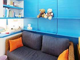 50平米單身公寓裝修效果圖 地中海式你的家