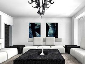擁抱極簡主義 11個極簡風格客廳設計圖