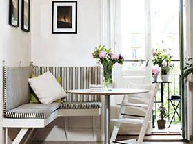 情趣小角落 13款小餐桌设计布置图