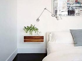 12个卧室床头柜效果图 时尚创意点缀家