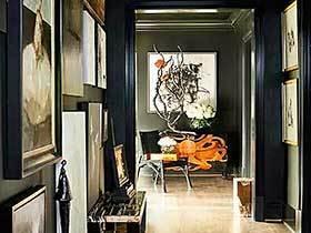 沿途的风景   10款走廊装饰画装饰参考图片