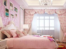 12个女孩房装修效果图 可爱粉彩甜美加分