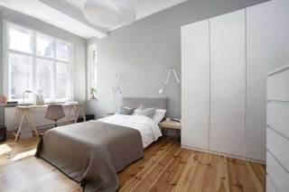 灰色系卧室装饰参考图