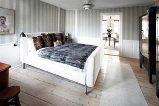 灰色系卧室设计布置图