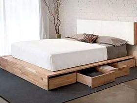 10个小户型卧室收纳床设计 收纳隐于无形