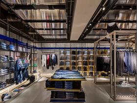 简洁个性的服装店设计