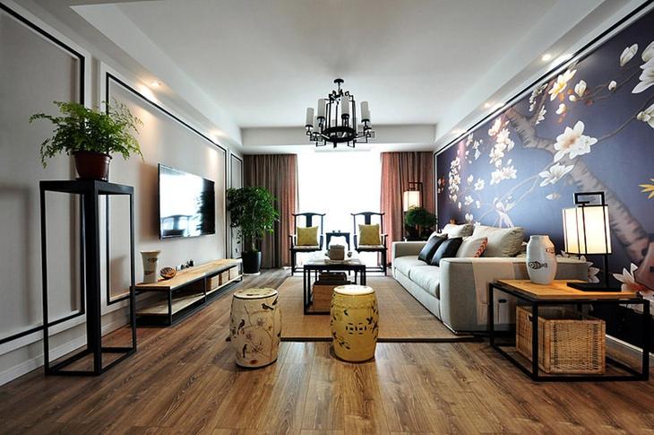 典雅大气中式客厅装潢大全