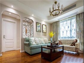 110平混搭风格装修   温馨而个性的空间