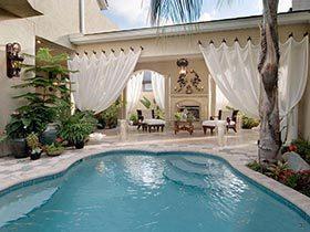夏日惊喜必备 10个庭院游泳池装修图片