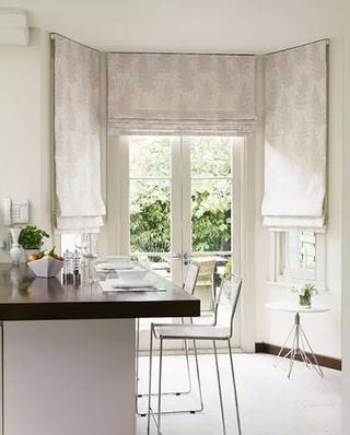 厨房窗户窗帘效果图2016