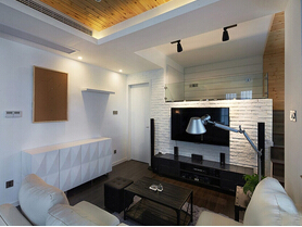 70平小户型loft装修  6万打造的时尚小窝