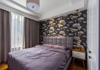 120平简约风格装修简约卧室