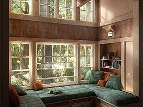 特色休闲在你家  10个飘窗改造设计图片