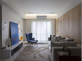 北欧风格一居室装修效果图  时尚又有范儿