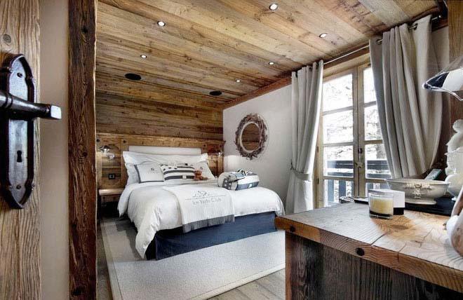 木色卧室装修装饰效果图