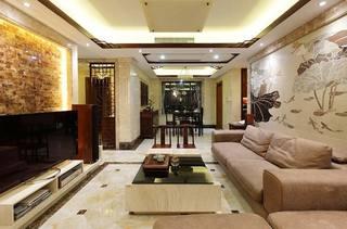 145平米两居室沙发布置图